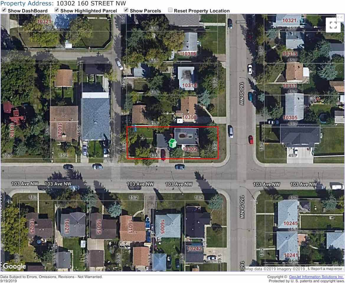 MLS® listing #E4174414 for sale located at 10302 160 Street