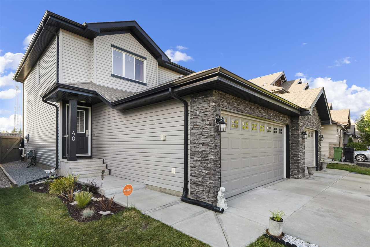 MLS® listing #E4174594 for sale located at 40 CALVERT Wynd