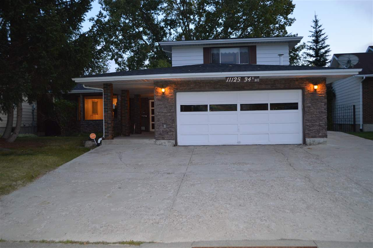 MLS® listing #E4176140 for sale located at 11125 34A Avenue