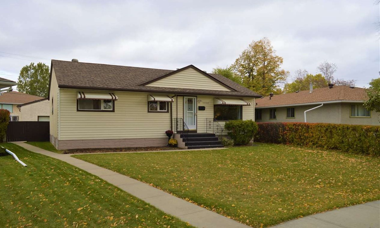 MLS® listing #E4176563 for sale located at 10707 145 Street