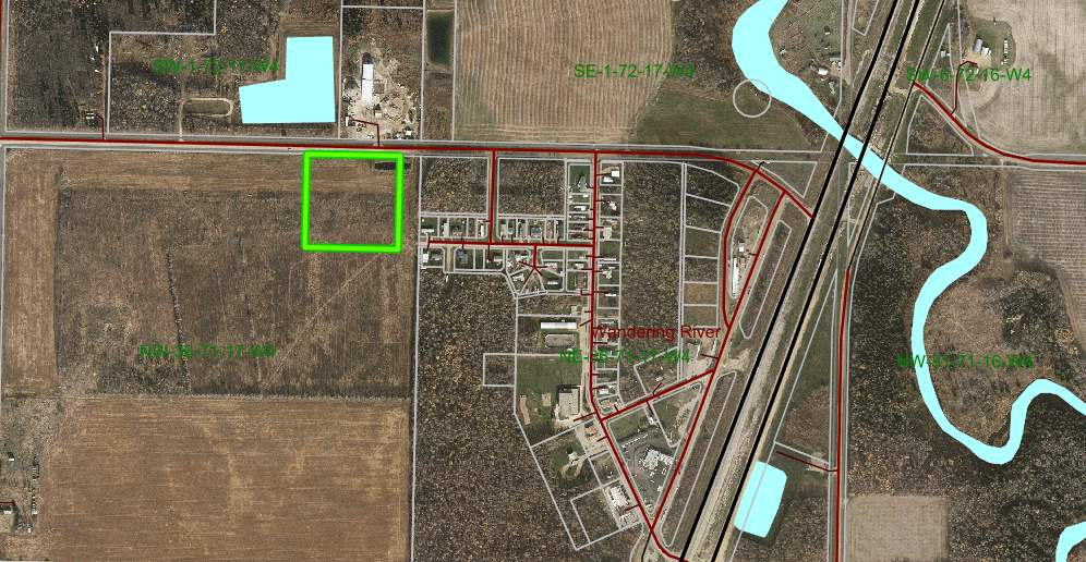 MLS® listing #E4177279 for sale located at nw-36-71-17-4 (8acres) Wandering River