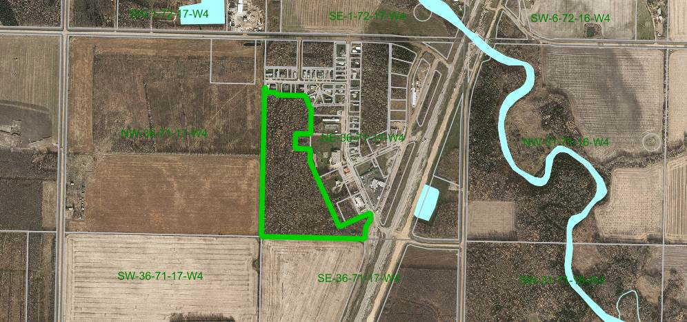 MLS® listing #E4177283 for sale located at ne-36-71-17-w4 (33acres) Wandering River