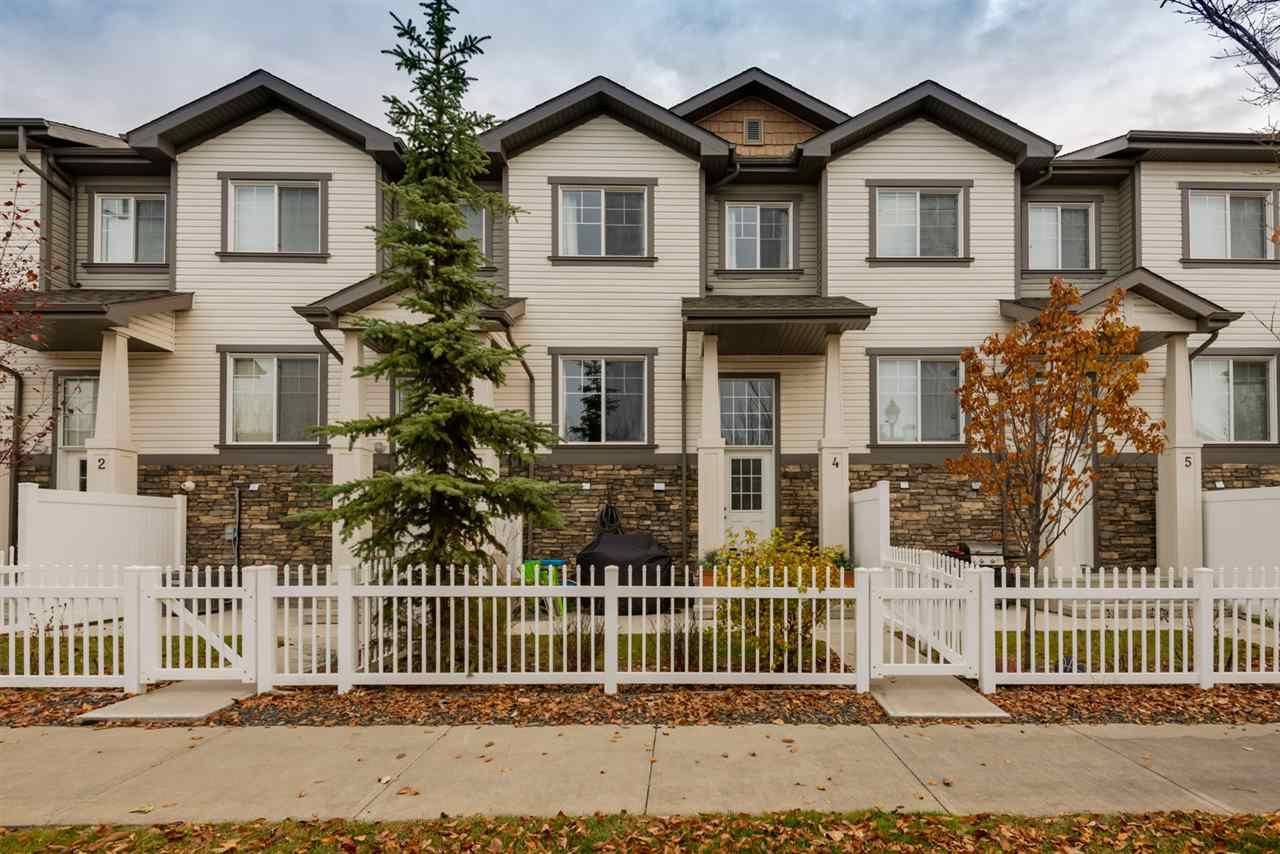 MLS® listing #E4177386 for sale located at 4 4825 TERWILLEGAR Common