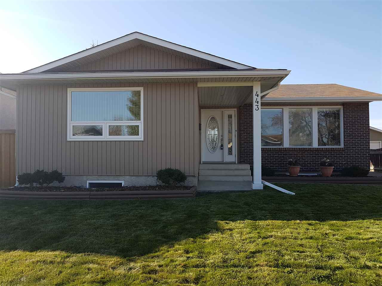 MLS® listing #E4177594 for sale located at 443 Huffman Crescent