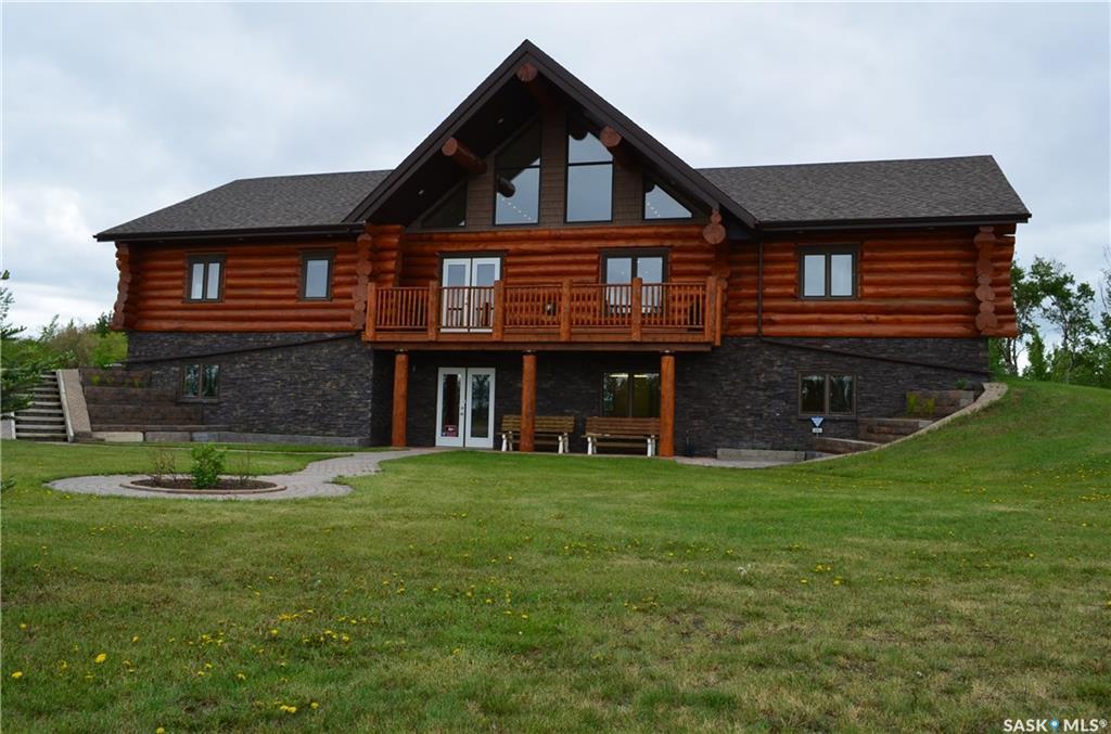 Saskatoon Log Home Acreage, 4 bed, 3 bath, at $999,900
