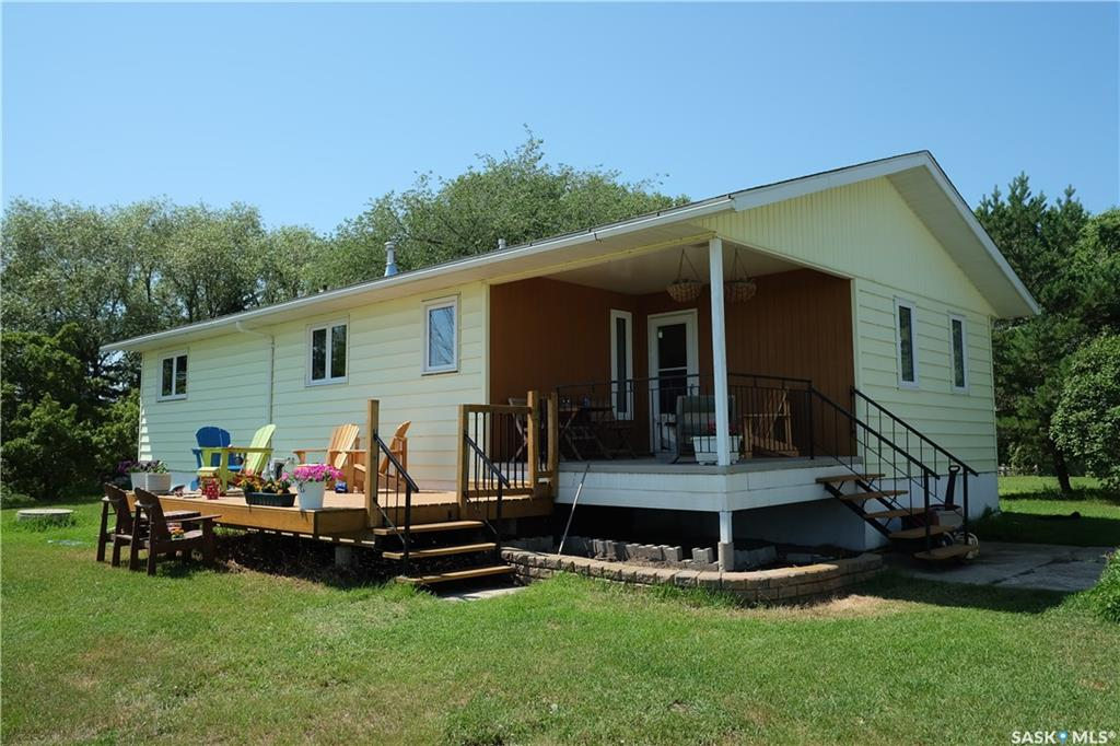 Peaceful Saskatoon Acreage, 3 bed, 2 bath, at $425,000