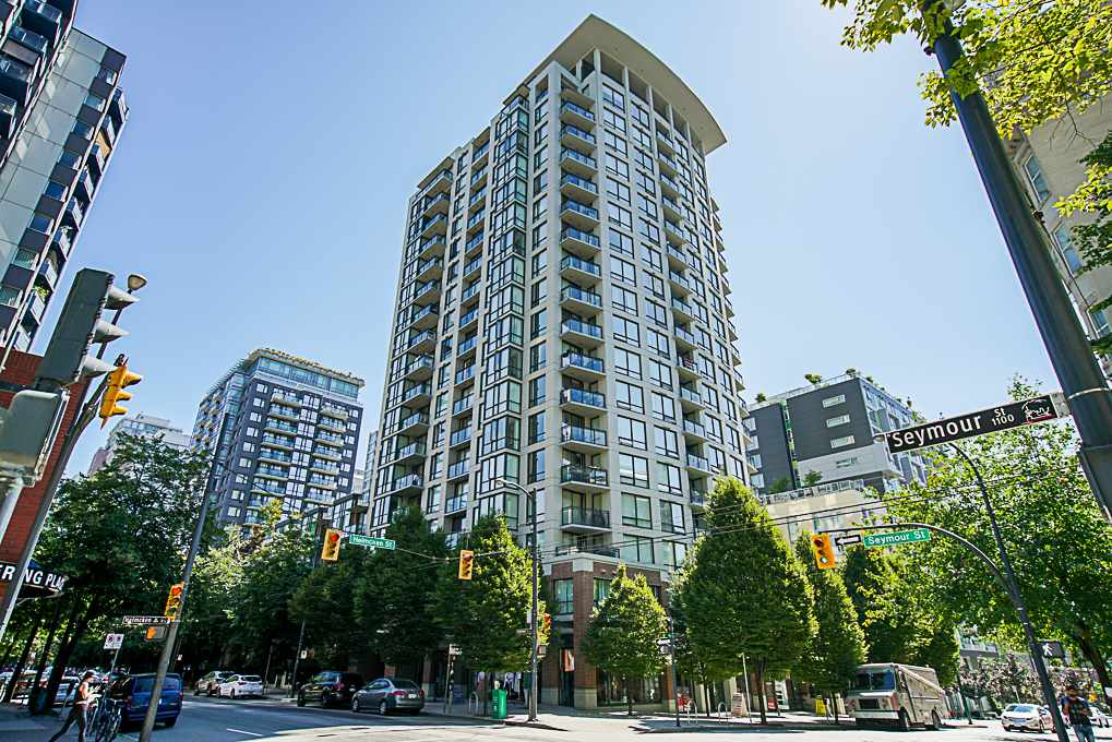 513 1082 SEYMOUR STREET, 1 bed, 1 bath, at $738,000