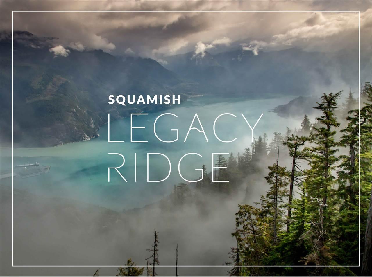 SL14 LEGACY RIDGE, Squamish, BC | MLS® # R2326395