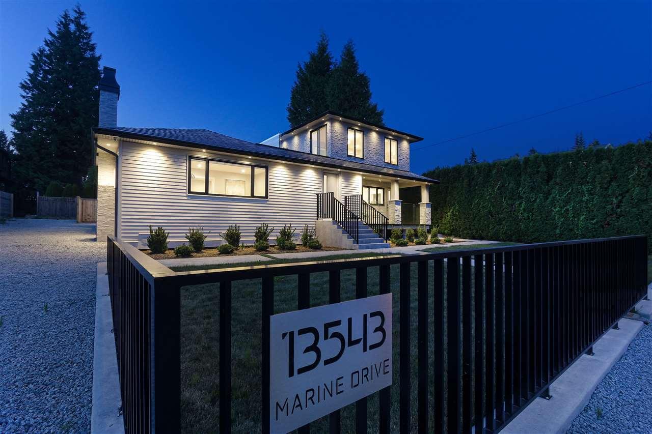 13543 MARINE DRIVE, 4 bed, 3 bath, at $1,868,000