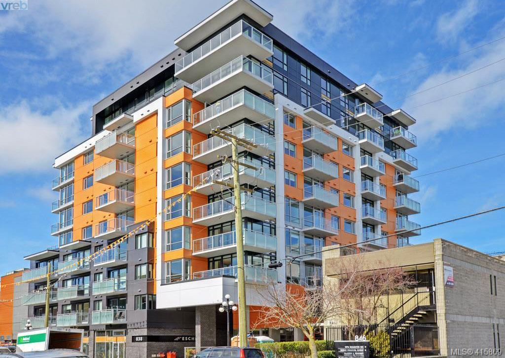 705 838 Broughton St, 1 bed, 1 bath, at $519,900