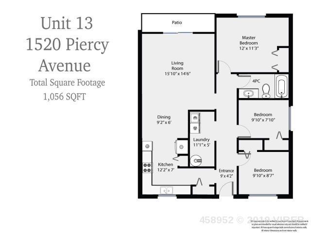 13 1520 Piercy Ave, Courtenay, MLS® # 458952